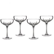 Lismore Essence Saucer Champagne Glass (Set of 4)