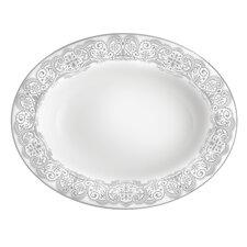 Lismore Lace Platinum Vegetable Dish