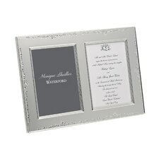 Modern Love Double Invitation Picture Frame