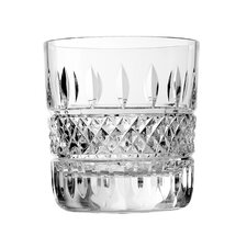 Irish Lace Double Old Fashion Glass (Set of 2)