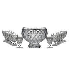 "John Connolly Lace 12"" Punch Bowl"