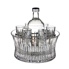 Lismore Diamond Vodka Set In Chill Bowl
