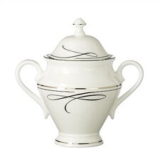 Ballet Ribbon Sugar Bowl with Lid