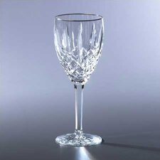 Araglin Platinum Goblet and Red Wine Glass