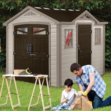 "Summit 9'5"" W x 8'4.4"" D Storage Shed"