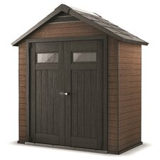 Fusion 7.42ft. W x 4ft. D Storage Shed