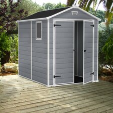 Manor 6 Ft. W x 8 Ft. D Plastic Shed
