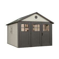 11ft. W x 18.5ft. D Plastic Storage Shed
