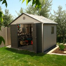 10.5 Ft. W x 10.5 Ft. D Plastic Storage Shed II