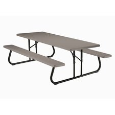 <strong>Lifetime</strong> Commercial Grade Folding Picnic Table