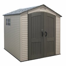 7 Ft. W x 7 Ft. D Plastic Storage Shed I