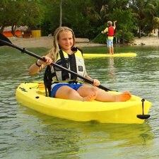 Lifetime Daylite Kayak with Paddle and Backrest