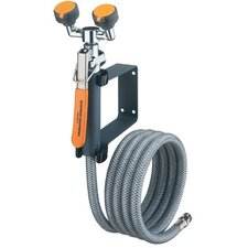 Wall Mounted Eye Wash/Drench Hose Units - emergency eye wash/drench hose unit wall mounte