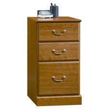 Orchard Hills 3-Drawer Pedestal