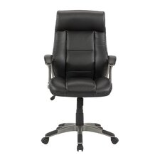Gruga Manager's Mid-Back Leather Executive Office Chair II