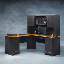 Harbor View L-Shape Desk Office Suite