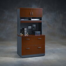 <strong>Sauder</strong> Via Lateral File Cabinet with Hutch