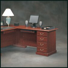 "<strong>Sauder</strong> Heritage Hill  29.68"" H x 47.48"" W Reversible Desk Return"