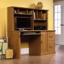 <strong>Sauder</strong> Orchard Hills Computer Desk with Hutch