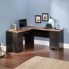 <strong>Sauder</strong> Harbor View Corner Computer Desk
