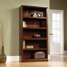 Storage 5-Shelf Bookcase in Select Cherry