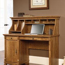 French Mills Office Computer Desk with Hutch