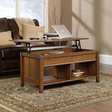 <strong>Sauder</strong> Carson Forge Lift Top Coffee Table