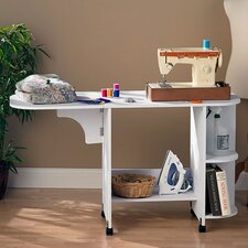 Bangalore Sewing Table in White