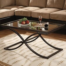 <strong>Wildon Home ®</strong> Vogue Coffee Table Set with Mirror