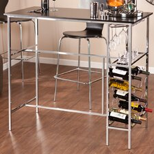 <strong>Wildon Home ®</strong> Sophie Wine Storage Pub Table