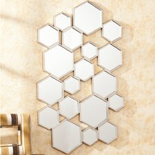 Nalice Honeycomb Wall Mirror