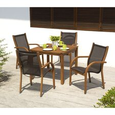 Bronson Outdoor 5 Piece Seating Set