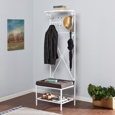 Taos Entryway Storage Rack Hall Tree