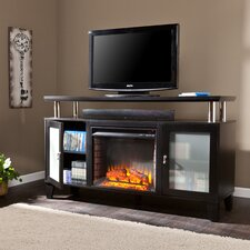 "Sutton 60"" TV Stand with Electric Fireplace"
