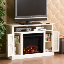 """Fox 48"""" TV Stand & Electric Fireplace"""