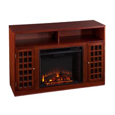 Wallacetown TV/ Media Stand with Electric Fireplace