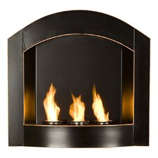 Cordova Wall Mounted Gel Fuel Fireplace