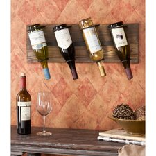 Wicklow 4 Bottle Wall Mount Wine Rack