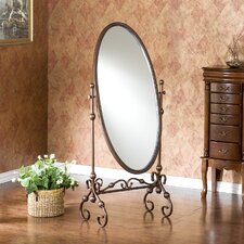 Vanderbilt Mirror in Antique Bronze