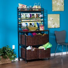 Lynbar Craft Storage Rack with Baskets