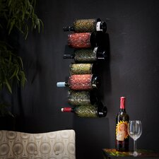<strong>Wildon Home ®</strong> Vigo 7 Bottle Wall Mounted Wine Rack