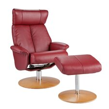 Asher Recliner with Ottoman