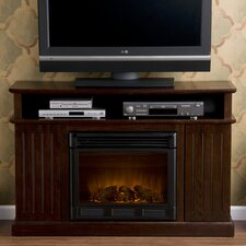 "Julian 48"" TV Stand with Electric Fireplace"