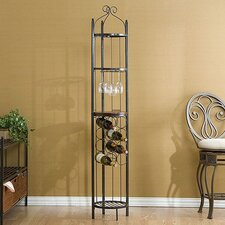 Scout Scrolled 8 Bottle Wine Rack