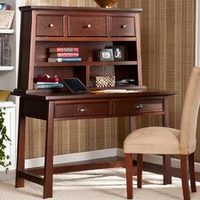Laurent Writing Desk with Hutch
