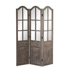"68.75"" x 47.75"" Pilsen 3 Panel Room Divider"