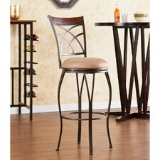 "Larsen 30"" Swivel Bar Stool with Cushion"
