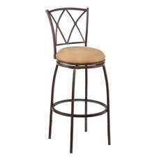 Fairfax Adjustable Height Swivel Bar Stool