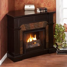 Middleton Convertible Slate Gel Fuel Fireplace