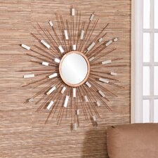 <strong>Wildon Home ®</strong> Tribeca Starburst Mirrored Wall Sculpture